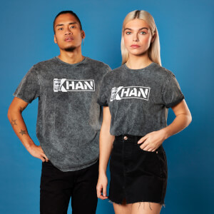 Star Trek - T-shirt Khan - Noir - Unisexe