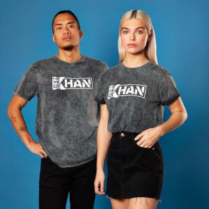 Camiseta Star Trek Khan - Unisex - Negro