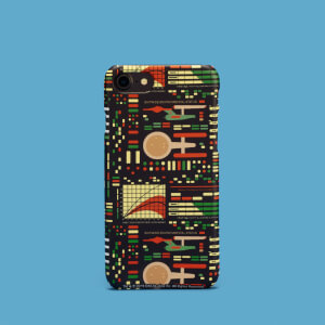 Cover telefono Retro Light Star Trek per iPhone e Android
