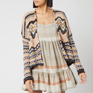 Free People Women's Feeling Nostalgic Cardigan - Neutral Combo
