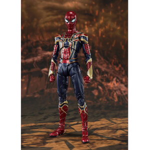 Bandai Tamashii Nations Avengers: Endgame S.H. Figuarts Action Figure Iron Spider (Final Battle) 15 cm
