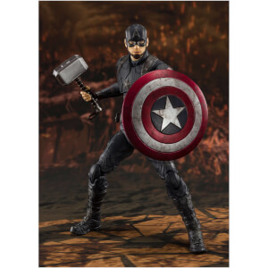 Bandai Tamashii Nations Avengers: Endgame S.H. Figuarts Action Figure Captain America (Final Battle) 15 cm