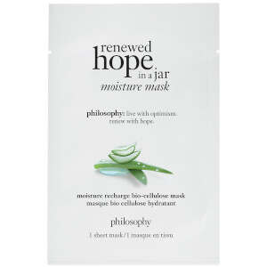 philosophy Renewed Hope Moisture Recharge Bio-Cellulose Sheet Mask