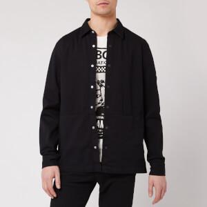 Barbour International Men's Endo Overshirt - Black