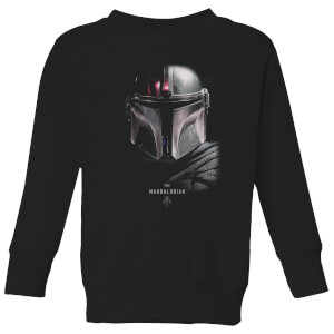 The Mandalorian Poster Kids' Sweatshirt - Black