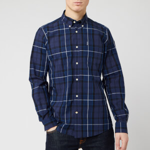 Barbour Men's Sandwood Shirt - Inky Blue