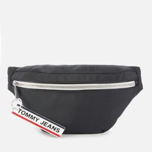 Tommy Jeans Men's Logo Tape Bumbag - Black