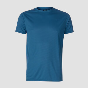 T-shirt Training Grid - Blu aviatore