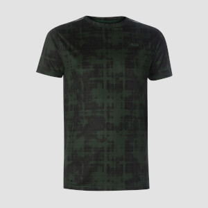 T-shirt Training Grid - Verde cacciatore