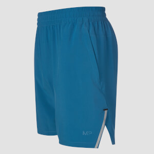 Gewebte Training Shorts - Pilot Blue