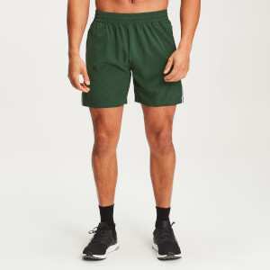 Gewebte Training Shorts - Hunter Green