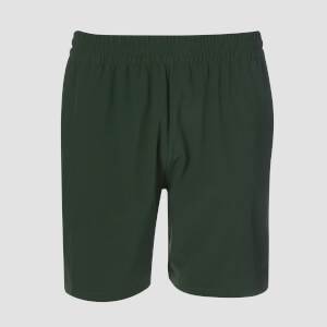 Woven Training Shorts - Hunter Green
