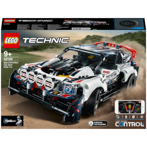 LEGO Technic: App-Controlled Top Gear Rally Car (42109)