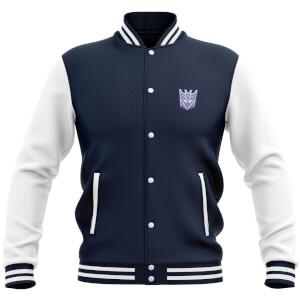 Transformers Decepticon Varsity Jacket - Navy / White