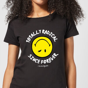 Totally Radical Since Forever Women's T-Shirt - Black