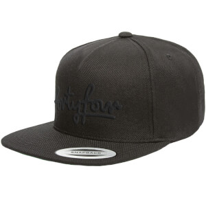 How Ridiculous Forty Four Black Embroidered Snapback Cap