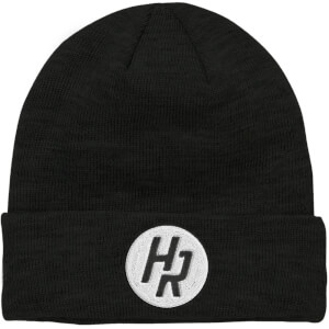 How Ridiculous HR Emblem Embroidered Black Beanie