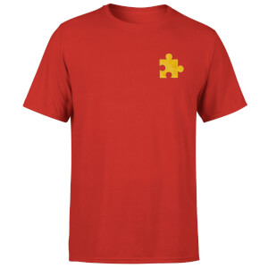 Banjo Kazooie Jiggy Embroidered T-Shirt - Red