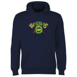 Battle Toads Insignia Hoodie - Navy