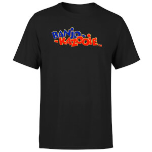 Banjo Kazooie Logo T-Shirt - Black