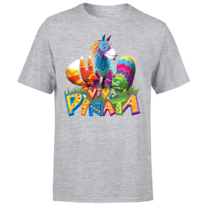 Viva Pinata Group T-Shirt - Grey