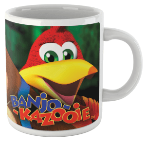 Banjo Kazooie Group Mug
