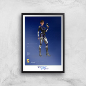 Perfect Dark A3 Giclee