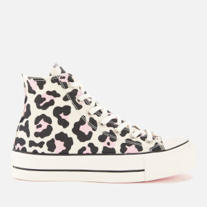 Converse Women's Chuck Taylor All Star Lift Hi-Top Trainers - Vintage White/Multi/Black