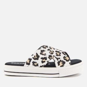 Converse Women's One Star Slip Sandal - Desert Ore/Black/White