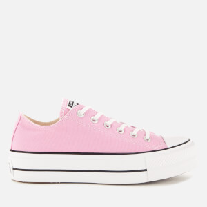 Converse Women's Chuck Taylor All Star Lift Seasonal Ox Trainers - Peony Pink