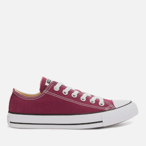 Converse Chuck Taylor All Star Seasonal Ox Trainers - Maroon