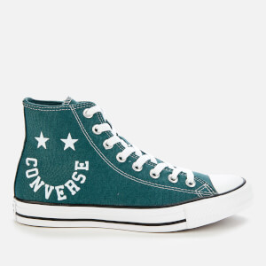Converse Men's Chuck Taylor All Star Smile Hi-Top Trainers - Faded Spruce/Black/White
