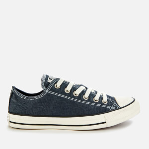Converse Men's Chuck Taylor All Star Ox Trainers - Navy/Egret/Black