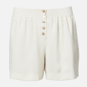 KENZO Women's Elasticated Short - Off White