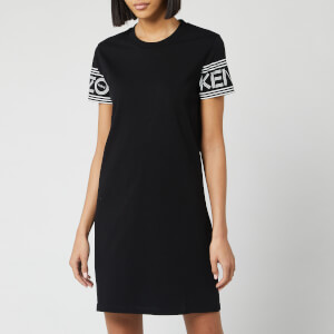 KENZO Women's Kenzo Sport T-Shirt Dress - Black