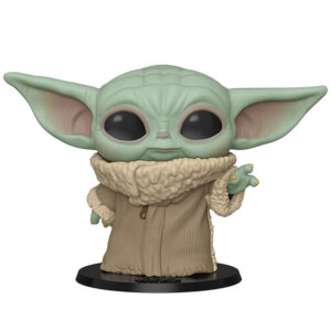 Star Wars The Mandalorian Baby Yoda 10-inch Funko Pop! Vinyl figure
