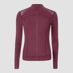 Power Mesh Jacket - Oxblood