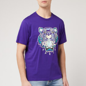 KENZO Men's Classic Tiger T-Shirt - Plum Blue