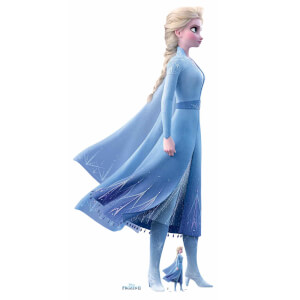 Disney Frozen 2 Elsa Lifesized Carboard Cut Out