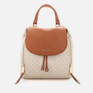 MICHAEL MICHAEL KORS Women's Viv Large Backpack - Vanilla/Acorn