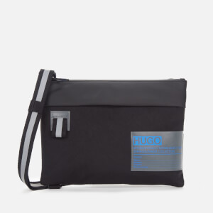 HUGO Men's Voyager Pouch - Black