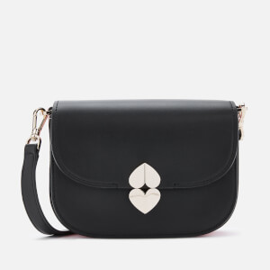 Kate Spade New York Women's Lula Small Saddle Bag - Black
