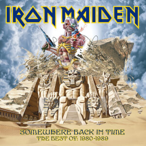 Iron Maiden - Somewhere Back in Time (The Best Of: 1980-1989) LP