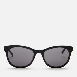 DKNY Women's Tea Cup Acetate Sunglasses - Black