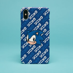 Funda móvil SEGA Sonic Kanji para iPhone y Android