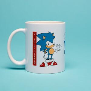 Sonic Japanese Tasse- Weiß