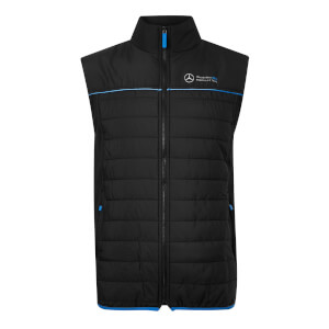 Men's Black Gilet Jacket