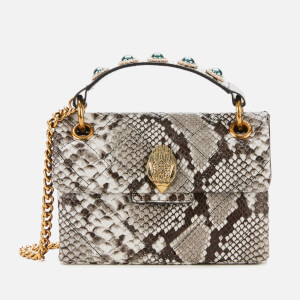 Kurt Geiger London Women's Mini Kensington X Bag - Grey Mid