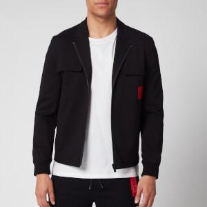 HUGO Men's Urel Zip Jacket - Black