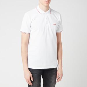 HUGO Men's Dinoso202 Polo Shirt - White